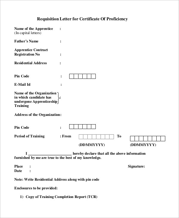 8+ Sample Requisition Letters Sample Templates - requisition letter sample