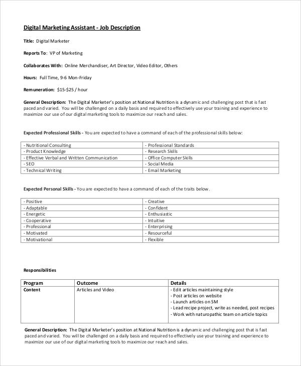 digital marketing job description | node2003-cvresume.paasprovider.com