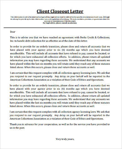 Sample Legal Letter Format - 9+ Examples in Word, PDF