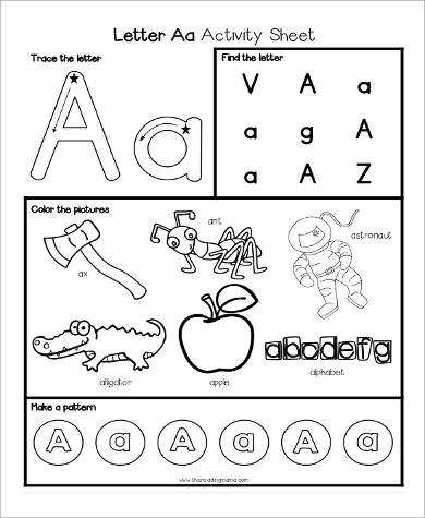 9+ Sample Printable Preschool Worksheets Sample Templates