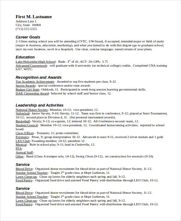 it professional sample resume format