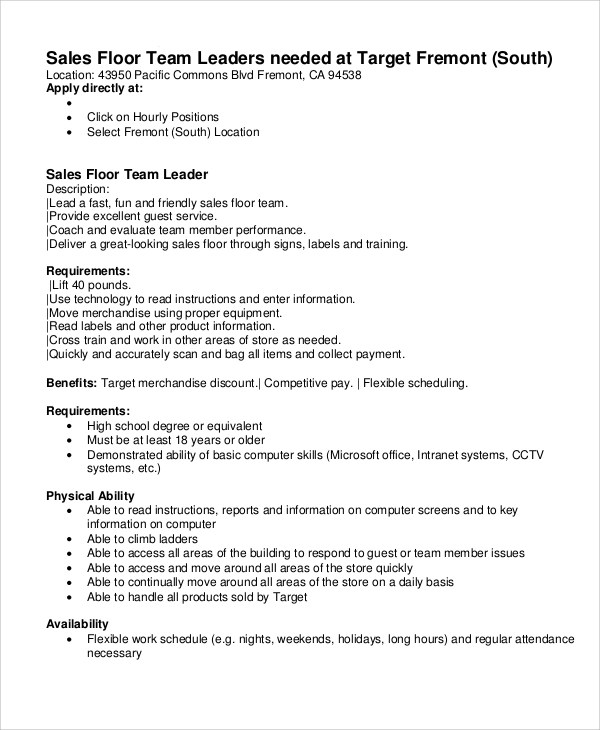 Job Description Sample Junior Graphic Designer Job Description 9+ - carpenter job description