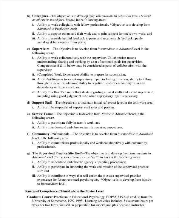 8+ Sample Objectives For Resume Sample Templates - resume objective supervisor
