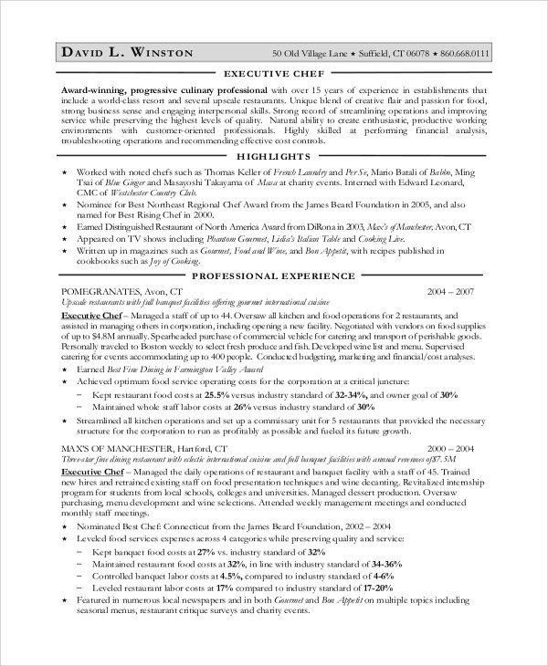 Sample Objectives For Resume - 8+ Examples in Word, PDF