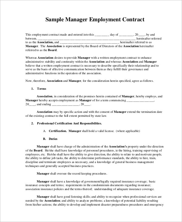 sample sales contract technologybusiness - sales employment agreement