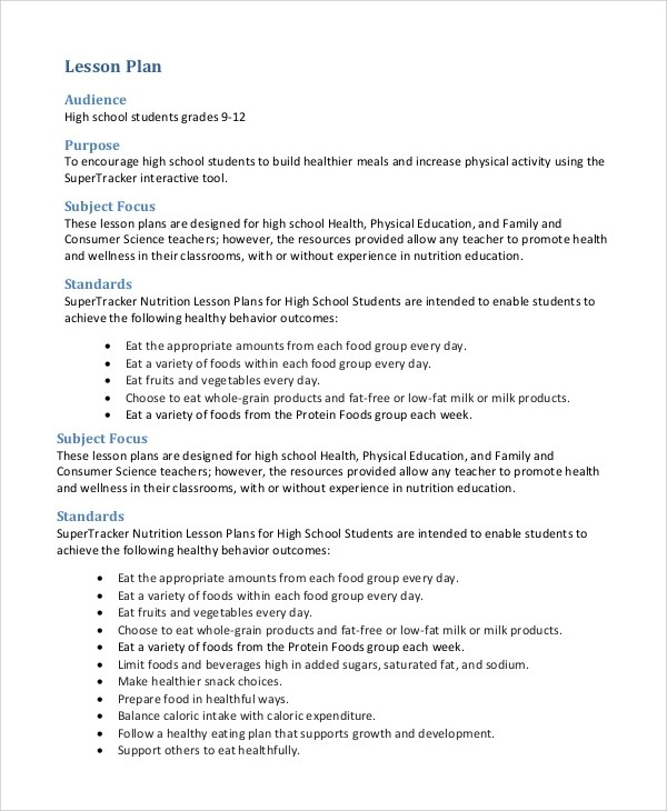 physical education lesson plan template xv-gimnazija