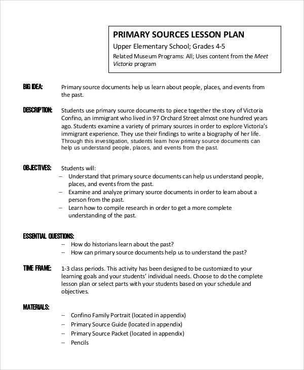 Mini Lesson Plan Format Template Studycom 2a Lesson Plan Basic