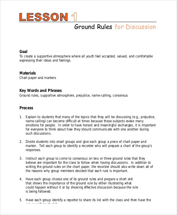 9+ Lesson Plan Examples Sample Templates