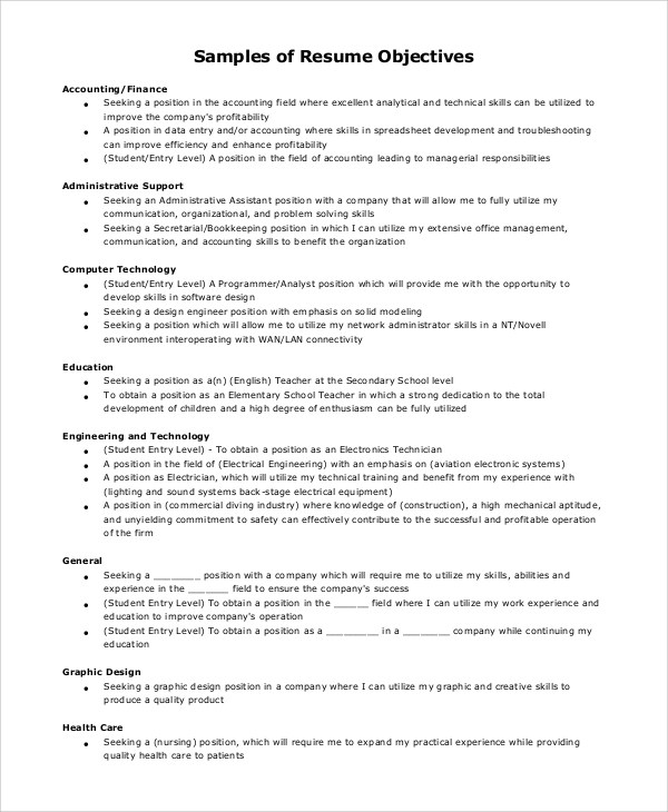 Sample Restaurant Resume - 10+ Examples in PDF, Word - restaurant skills resume