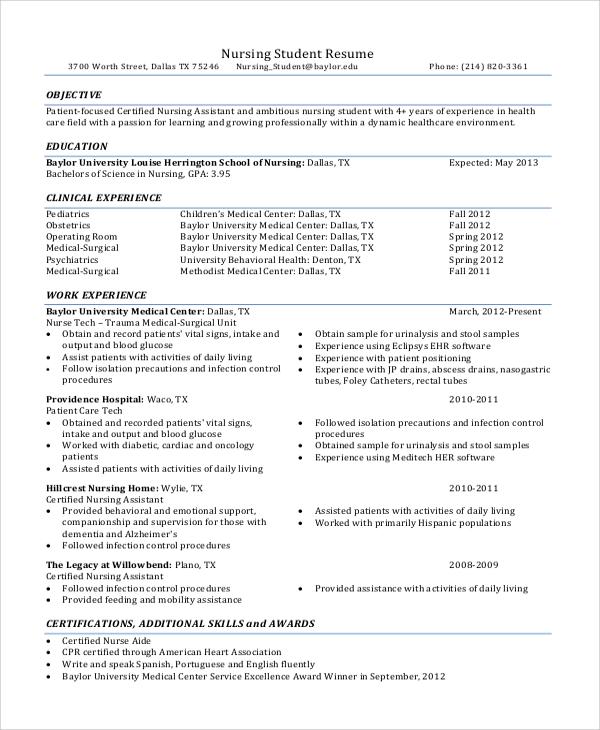 nurse detailed resume sample customer service resume