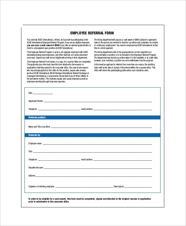 Office Referral Form kicksneakers