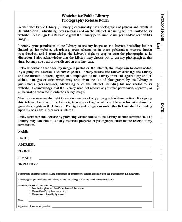 photographer photo release form - Vatozatozdevelopment