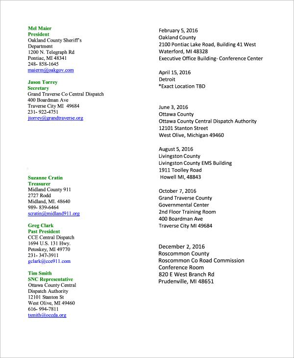10+ Meeting Schedule Samples Sample Templates - meeting schedule template