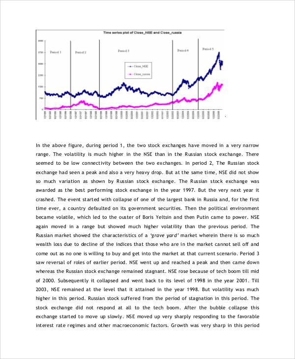 8+ Stock Market Analysis Samples Sample Templates