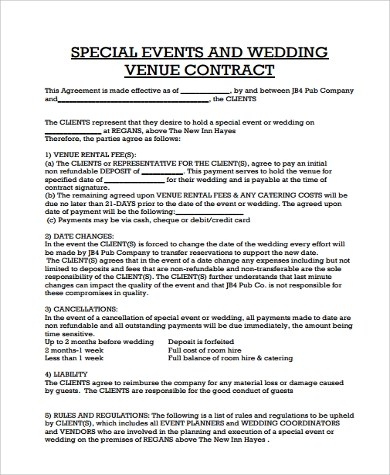 Event planner contract example [nfgaccountability.com]