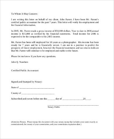 10+ Sample Employee Verification Letters Sample Templates - examples of employment verification letters