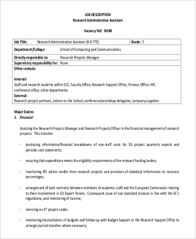 contract administrator sample resume node2004-resume-template