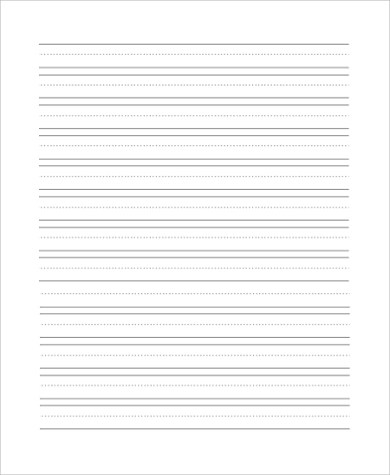 Writing Staar Composition Lined Paper Free Print - Worksheet - free lined paper to print