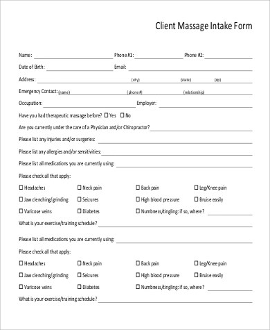 Living Trust Form What Form Of Business Entity Is The Best For - client information form template
