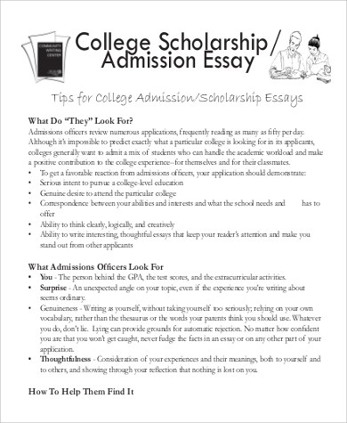 essay college scholarships