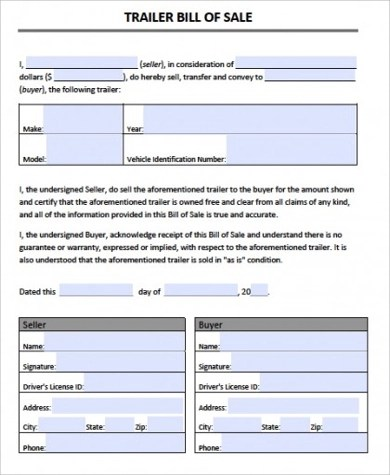 bill of sale for camper - Akbagreenw