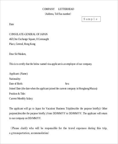 Professional Letterhead Format - Best Resumes