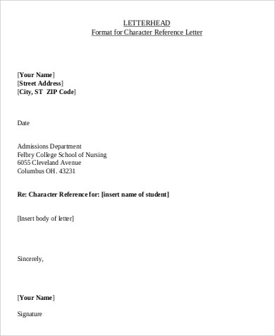 7+ Sample Professional Letterheads Sample Templates