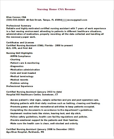 resume format for experienced software testers convey enthusiasm - cna resume template