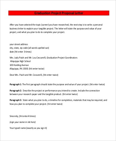 Project Proposal Example - 8+ Samples in Word, PDF - business project proposal template