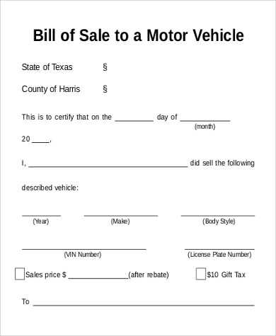 how to write a bill of sale for a motorcycle - Ozilalmanoof