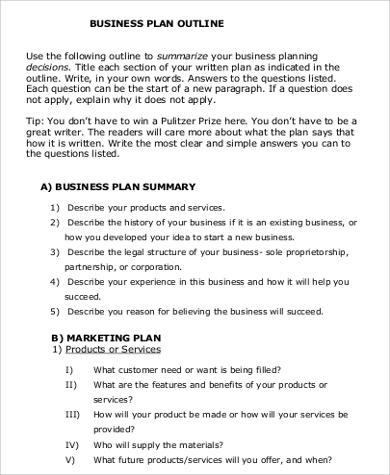 17+ Business Proposal Format Samples Sample Templates - sample business proposal outline