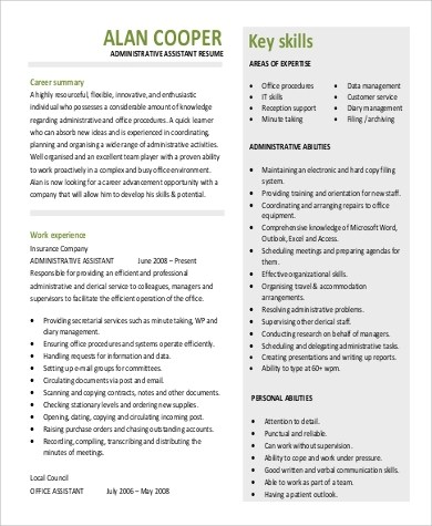 Professional Summary for Resume Sample - 9+ Examples in Word, PDF