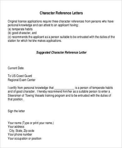 9+ Personal Reference Letter Samples Sample Templates