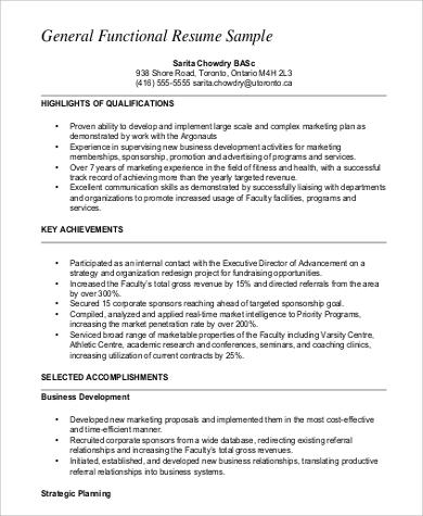 functional resume functional resume template pdf sample sample functional resumes