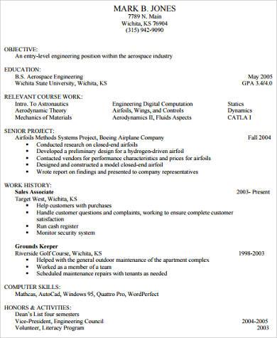 college golf resume resume ideas