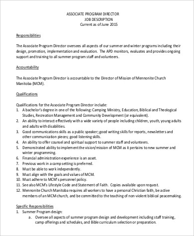 technical Director Job Description The IT Job Board - oukasinfo - executive director job description