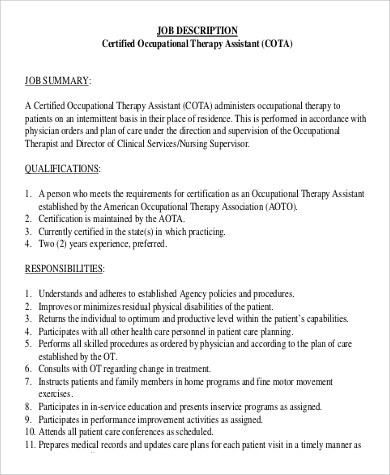 Cota Cover Letter resume cota resume for cotal resume examples cota