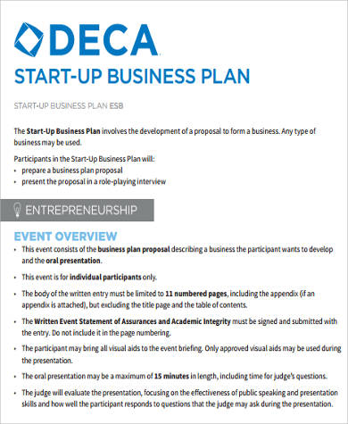 9+ Sample Startup Business Plans Sample Templates