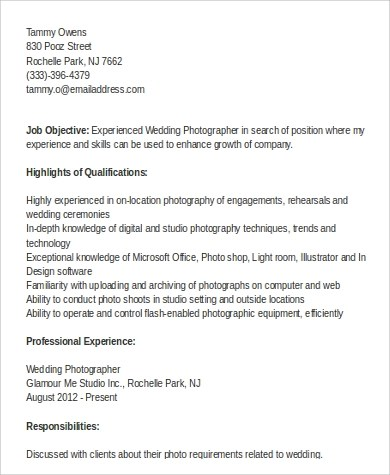 Photographer Resume Unforgettable Senior Photographer Resume Exles