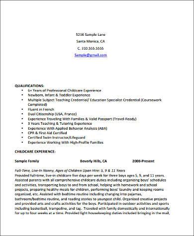 8+ Sample Teacher Assistant Resumes Sample Templates - resume teaching assistant