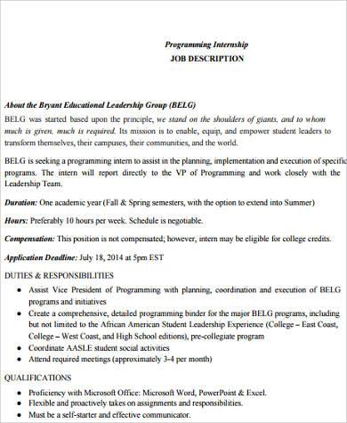 Computer Programmer Job Description Computer Programmer Resume - system programmer job description