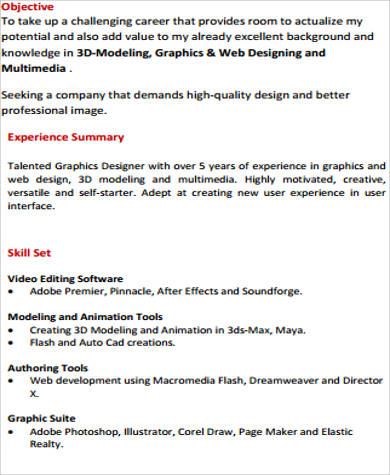 10+ Sample Technical Skills Resume Sample Templates - design skills resume