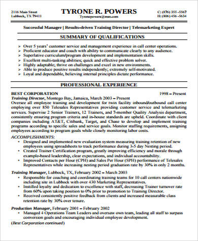 8+ Sample Supervisor Resumes Sample Templates - Customer Service Supervisor Resume Sample