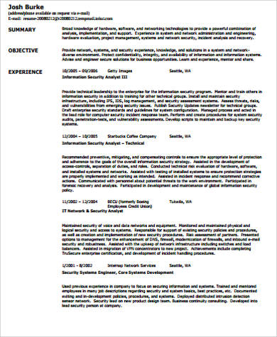 security guard resume objective template billybullock us example - Security Guard Resume Objective