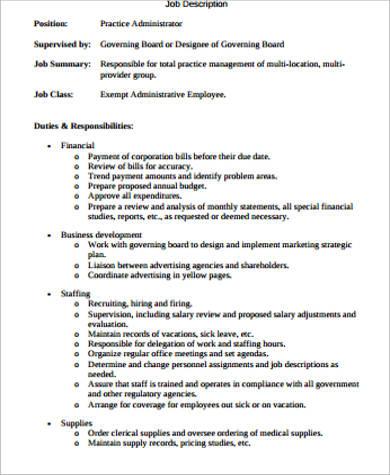 Delicieux Medical Records Job Duties Medical Records Job Description