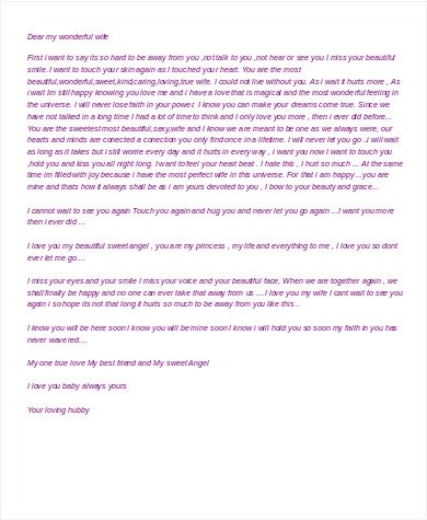 Free Sample Love Letters To Wife Free Sample Love Letters To Wife - free sample love letters to wife