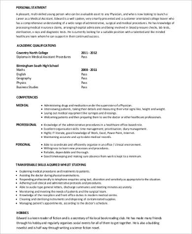medical assistant resume with no experience - Militarybralicious - resume for medical assistant with no experience