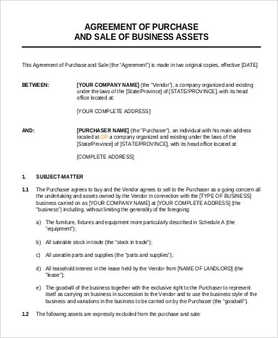 Business Agreement Format Sample - 9+ Examples in Word, PDF - sample business agreements