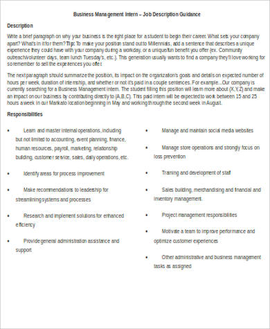 General Intern Job Description Medchemsupport Flyer Undergraduate