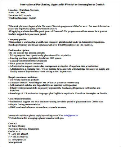 Purchasing Agent Job Descriptions Purchasing Agent Job Description